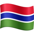 Flag: Gambia on Facebook 3.1