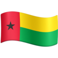 Flag: Guinea-Bissau on Facebook 3.1