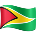 Flag: Guyana on Facebook 3.1