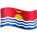 Flag: Kiribati on Facebook 3.1