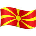 Flag: North Macedonia on Facebook 3.1