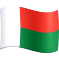 Flag: Madagascar on Facebook 3.1