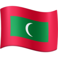 Flag: Maldives on Facebook 3.1