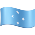 Flag: Micronesia on Facebook 3.1