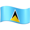 Flag: St. Lucia on Facebook 3.1