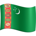 Flag: Turkmenistan on Facebook 3.1