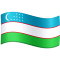 Flag: Uzbekistan on Facebook 3.1