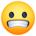 Grimacing Face on Facebook 3.1