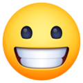Grinning Face on Facebook 3.1