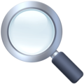 Magnifying Glass Tilted Left on Facebook 3.1
