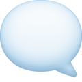 Left Speech Bubble on Facebook 3.1
