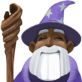 Man Mage: Dark Skin Tone on Facebook 3.1