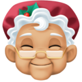 Mrs. Claus: Medium-Light Skin Tone on Facebook 3.1