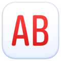 AB Button (Blood Type) on Facebook 3.1