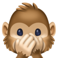 Speak-No-Evil Monkey on Facebook 3.1