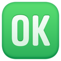 OK Button on Facebook 3.1