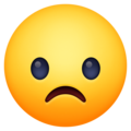 Frowning Face on Facebook 3.1