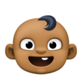 Baby: Medium-Dark Skin Tone on Facebook 4.0