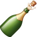 Bottle with Popping Cork on Facebook 4.0