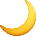 Crescent Moon on Facebook 4.0