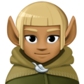 Elf: Medium-Dark Skin Tone on Facebook 4.0