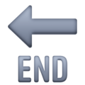 End Arrow on Facebook 4.0
