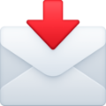 Envelope With Arrow on Facebook 4.0
