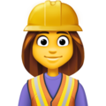 Woman Construction Worker on Facebook 4.0