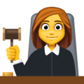 Woman Judge on Facebook 4.0