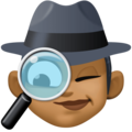 Woman Detective: Medium-Dark Skin Tone on Facebook 4.0