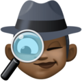 Woman Detective: Dark Skin Tone on Facebook 4.0