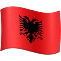 Flag: Albania on Facebook 4.0