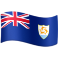 Flag: Anguilla on Facebook 4.0