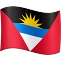 Flag: Antigua & Barbuda on Facebook 4.0