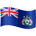 Flag: Ascension Island on Facebook 4.0