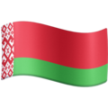 Flag: Belarus on Facebook 4.0