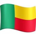 Flag: Benin on Facebook 4.0