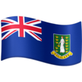 Flag: British Virgin Islands on Facebook 4.0