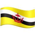 Flag: Brunei on Facebook 4.0