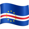 Flag: Cape Verde on Facebook 4.0