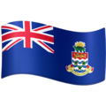 Flag: Cayman Islands on Facebook 4.0