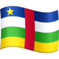 Flag: Central African Republic on Facebook 4.0
