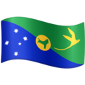 Flag: Christmas Island on Facebook 4.0