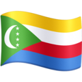 Flag: Comoros on Facebook 4.0