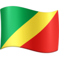 Flag: Congo - Brazzaville on Facebook 4.0