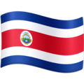 Flag: Costa Rica on Facebook 4.0