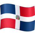 Flag: Dominican Republic on Facebook 4.0
