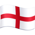Flag: England on Facebook 4.0
