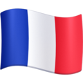 Flag: France on Facebook 4.0