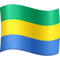 Flag: Gabon on Facebook 4.0
